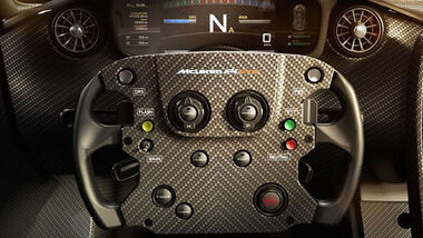 McLaren P1 GTR Cockpit