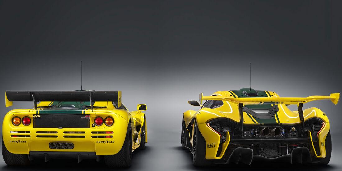 McLaren P1 GTR - McLaren F1 GTR - Genfer Autosalon 2015
