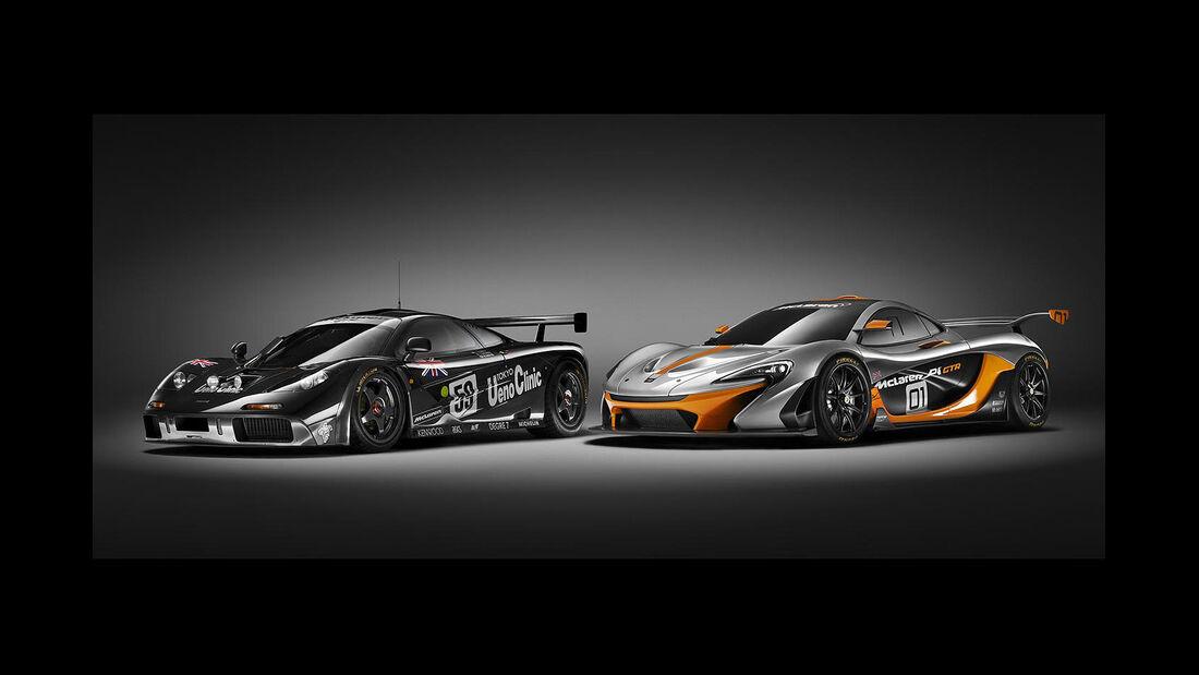 McLaren P1 GTR - Pebble Beach 2014