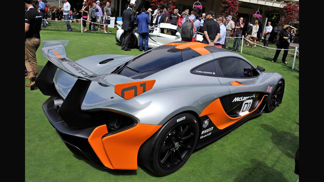 McLaren P1 GTR - Pebble Beach 2014 - Pebble Beach Concours d'Élegance - Sportwagen - 08/2014