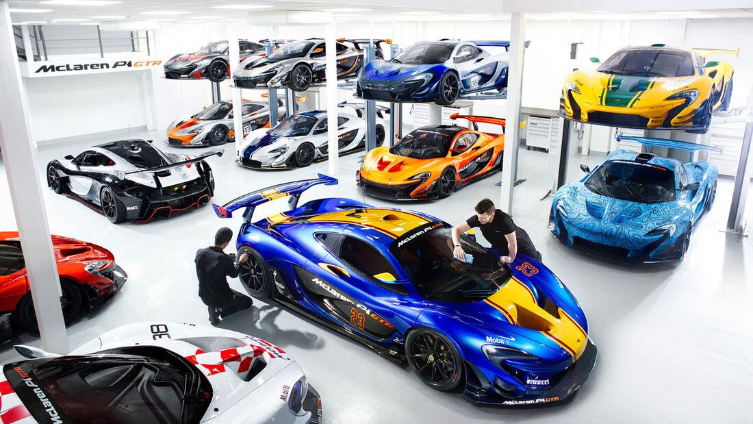McLaren P1 GTR - Supersportwagen - Werkstatt