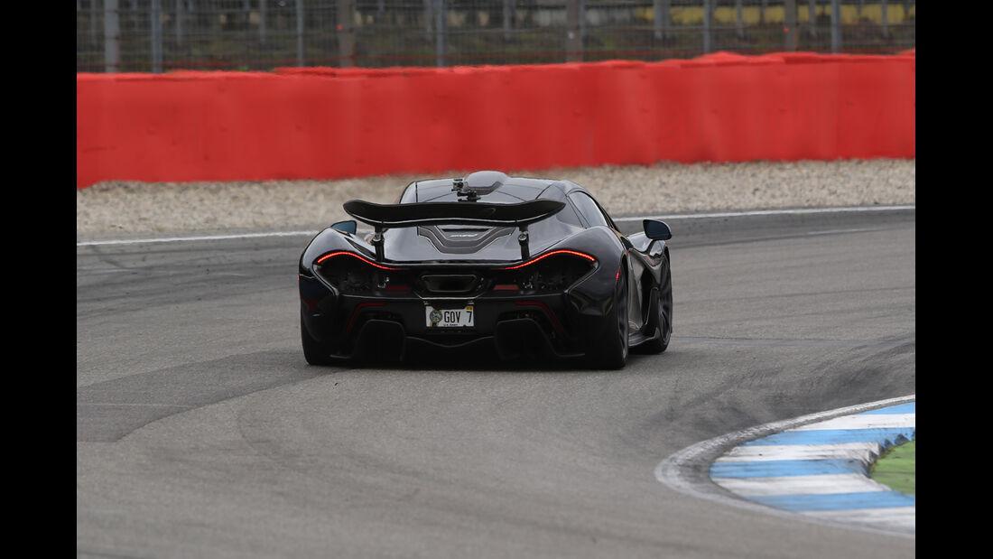 McLaren P1, Heckansicht
