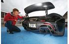 McLaren P1, Heckspoiler