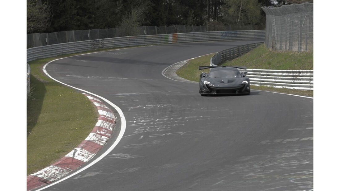 McLaren P1 LM - Nordschleife