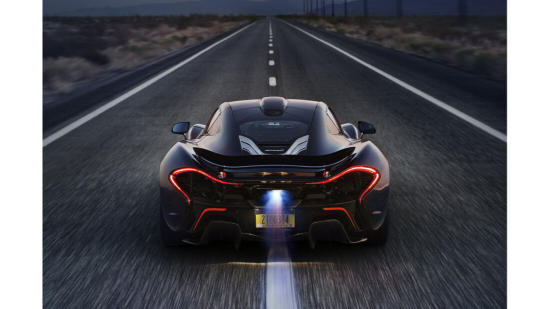McLaren P1 Leistungsdaten