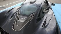 McLaren P1, Motorabdeckung
