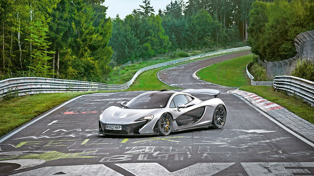 McLaren P1, Nordschleife, Nürburgring
