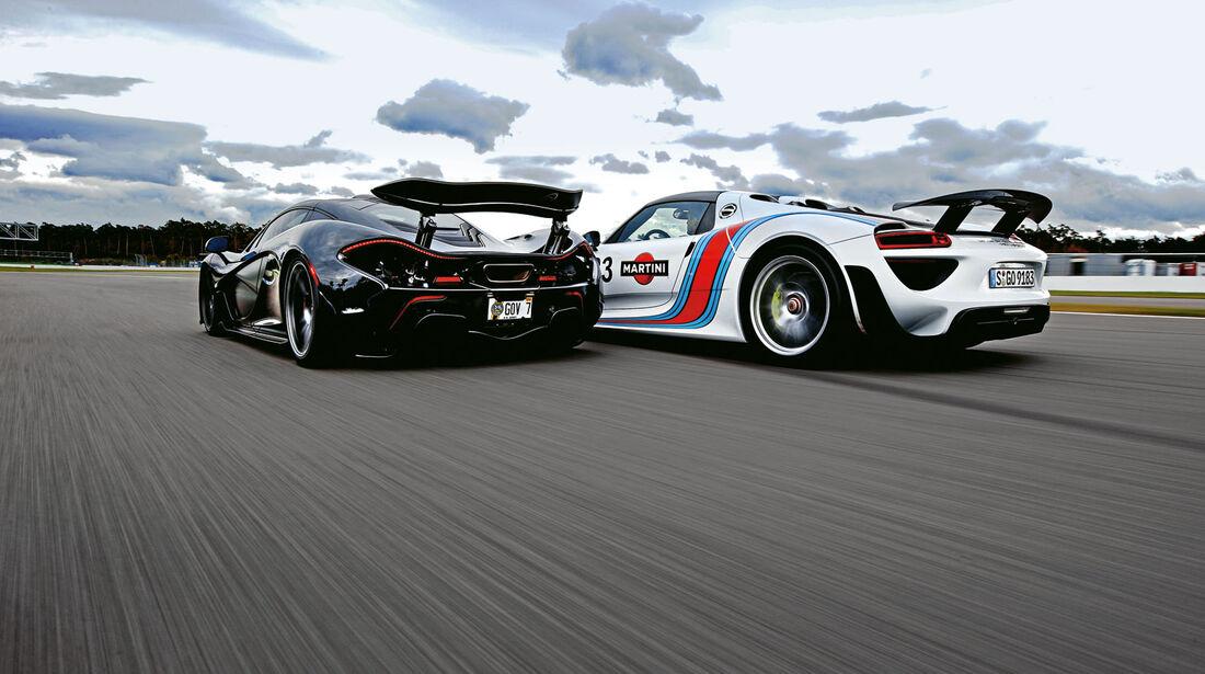 McLaren P1, Porsche 918 Spyder, Supersportwagen, Vergleich, Vorschau