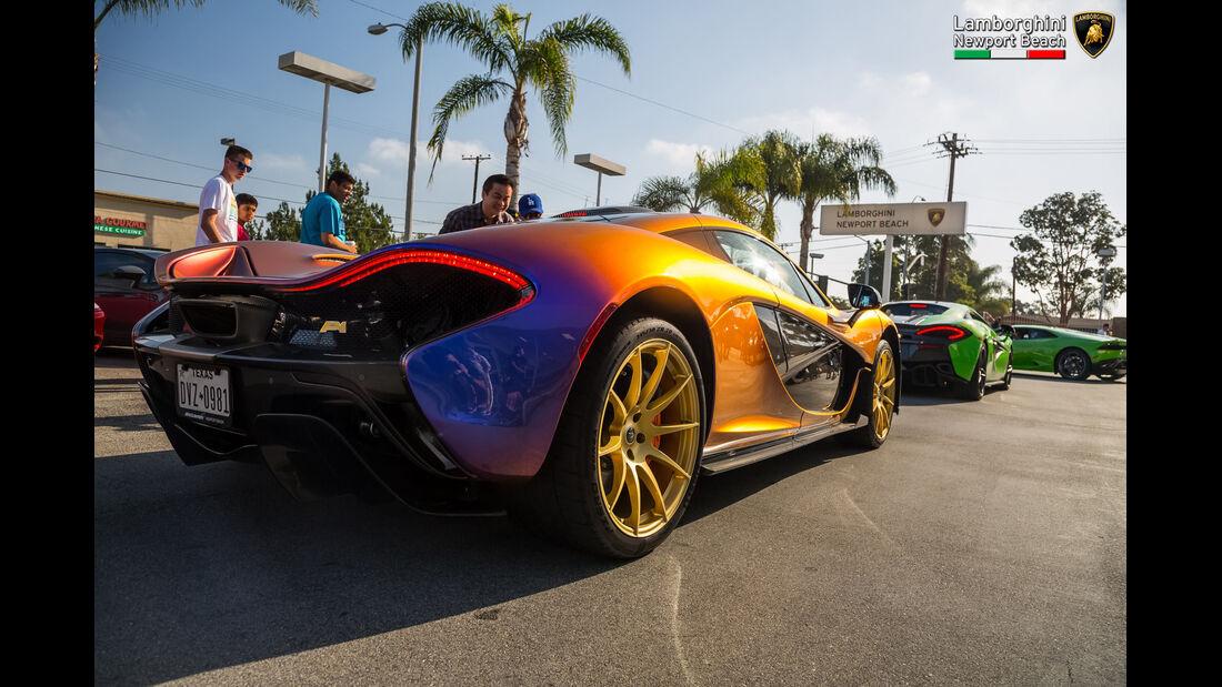 McLaren P1 - Supercar Show - Lamborghini Newport Beach