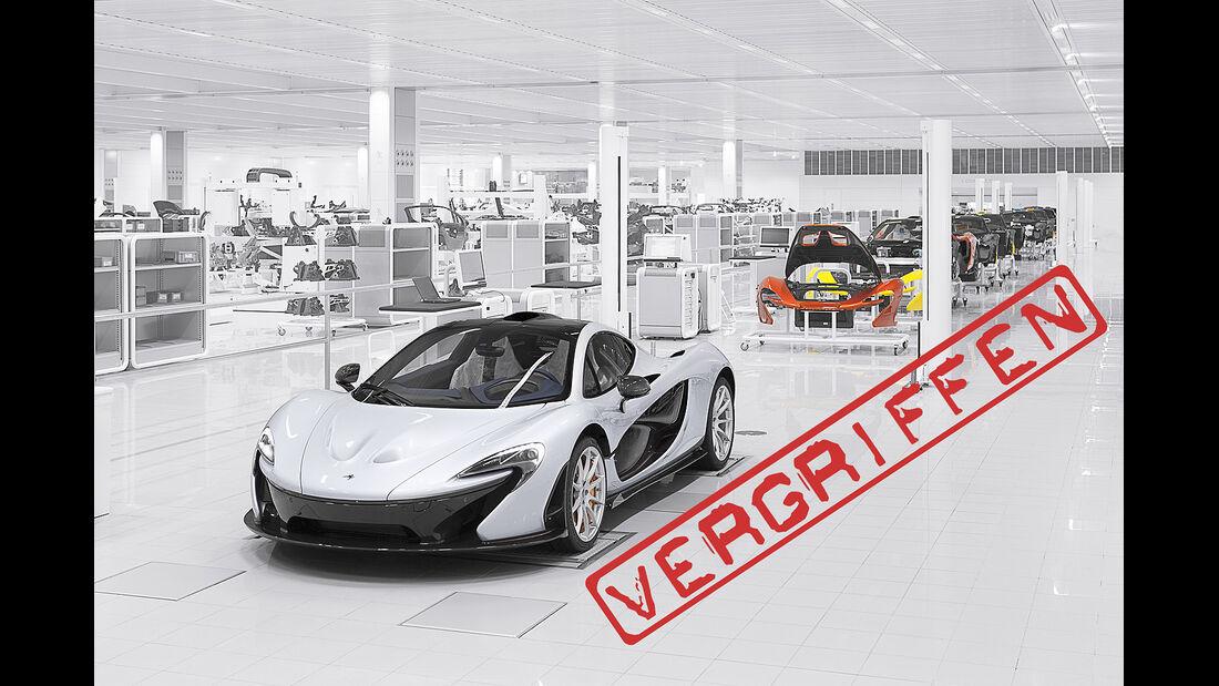 McLaren P1 ausverkauft