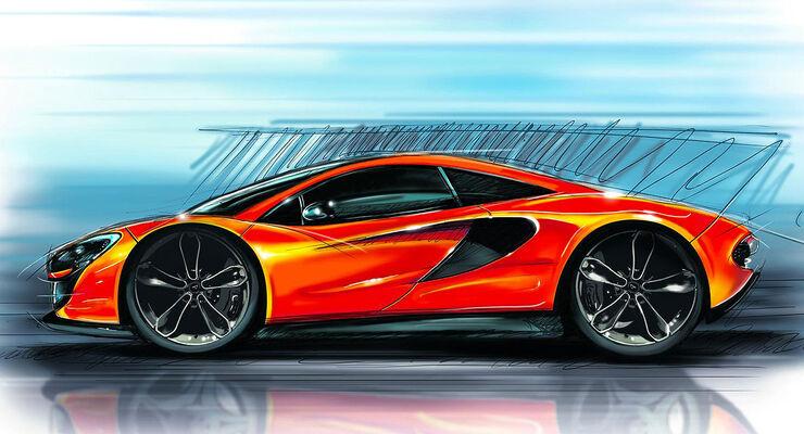 McLaren P13 Teaser