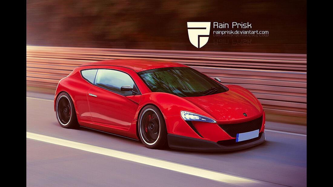 McLaren - Photoshop - Rain Prisk 2015