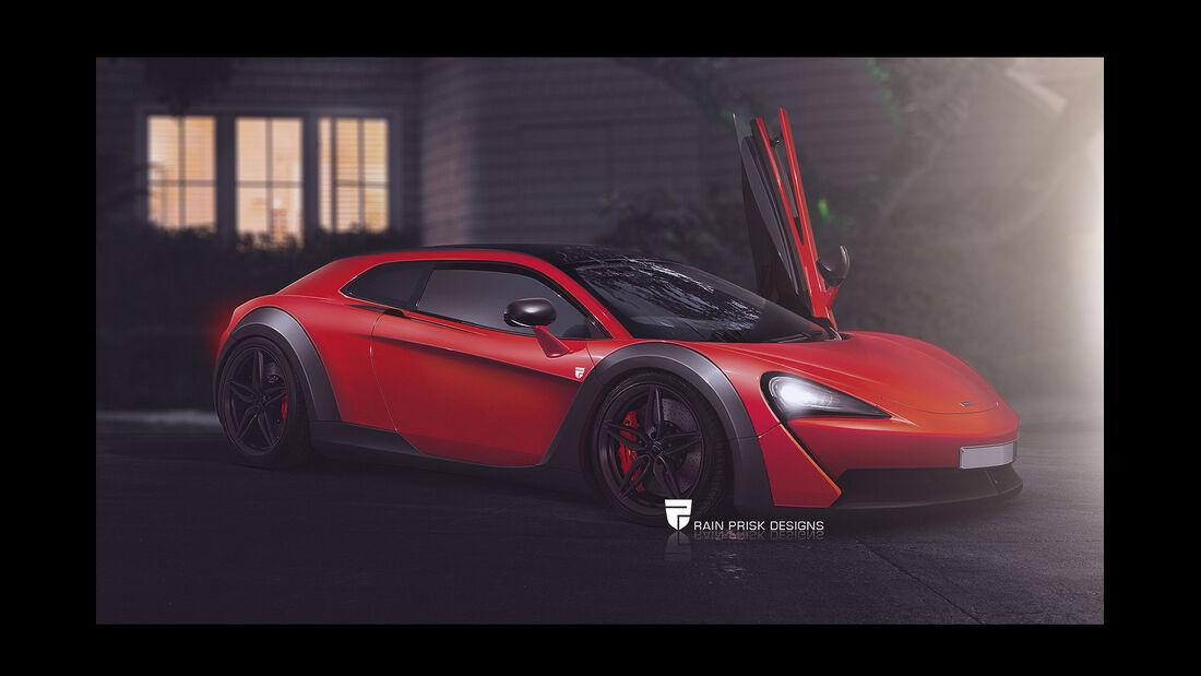 McLaren - Photoshop - Shooting Brake - Rain Prisk 2015
