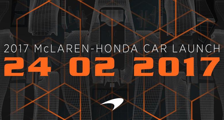 McLaren Präsentation 2017 - Ankündigung - F1