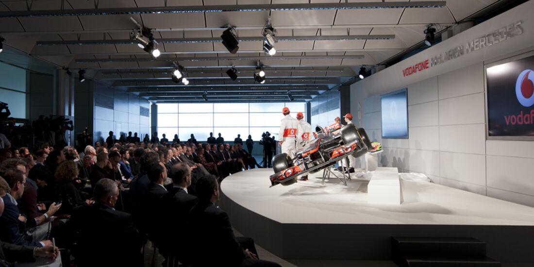 McLaren-Präsentation MP4-27