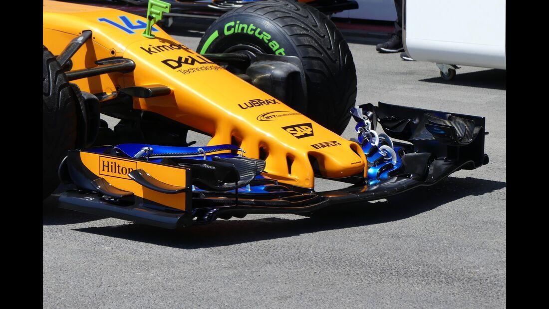 McLaren-Renault - Formel 1 - GP Aserbaidschan - 26. April 2018