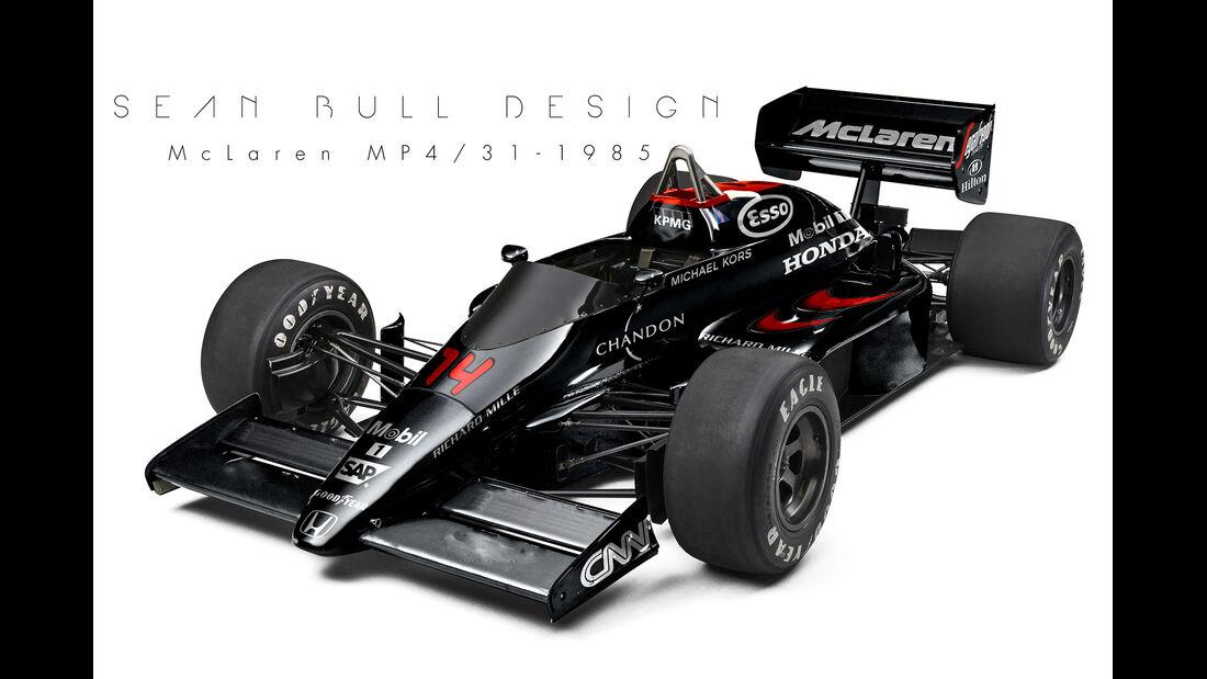McLaren - Retro F1 - Sean Bull