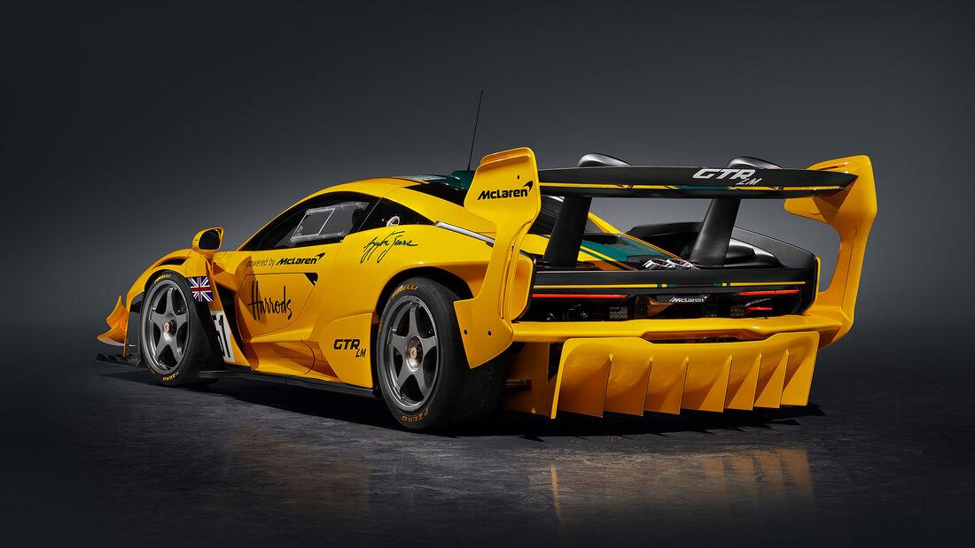 McLaren Senna GTR LM 825