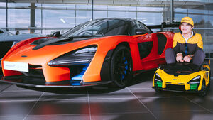 McLaren Senna Ride-On Lando Norris