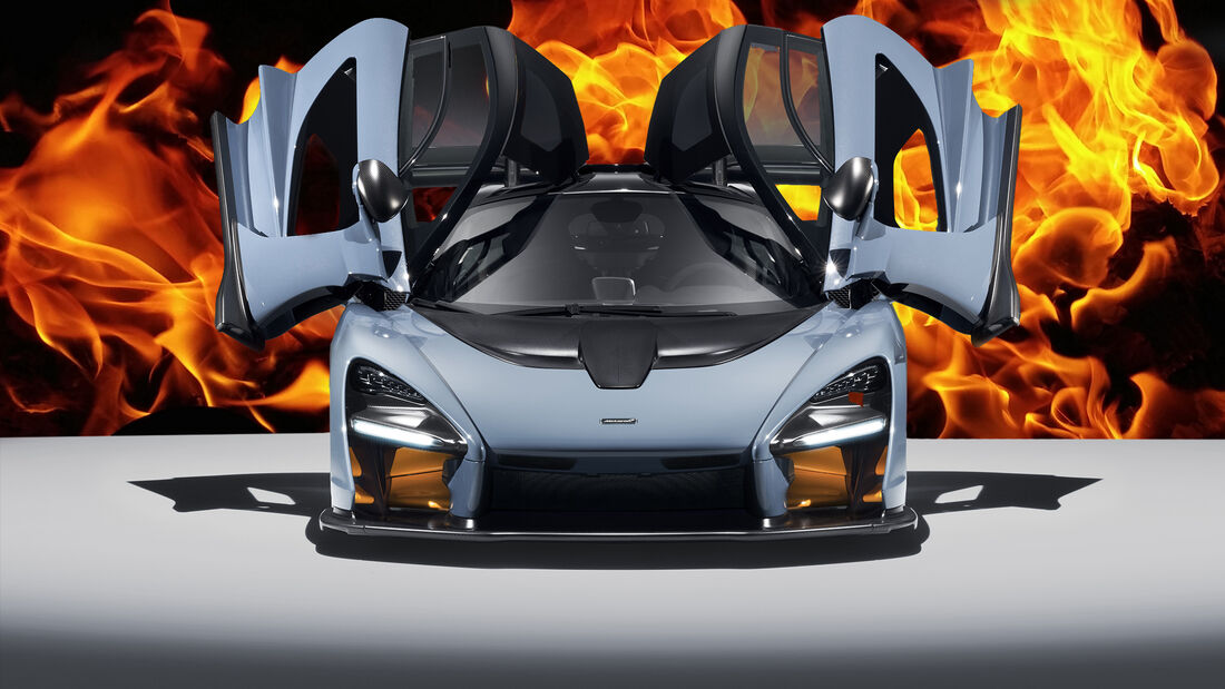 McLaren Senna Rückruf Flammen Feuer Gefahr 2020