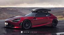 McLaren Shooting Brake - Design-Konzept - Grafikkünstler Rain Prisk