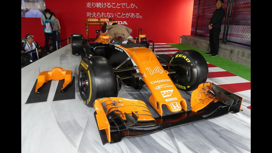 McLaren-Showcar - Formel 1 - GP Japan - Suzuka - 5. Oktober 2017