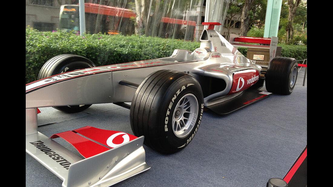 McLaren Showcar - Formel 1 - GP Singapur - 18. September 2013