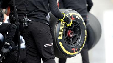 McLaren - Soft-Reifen - Pirelli - GP Australien 2016