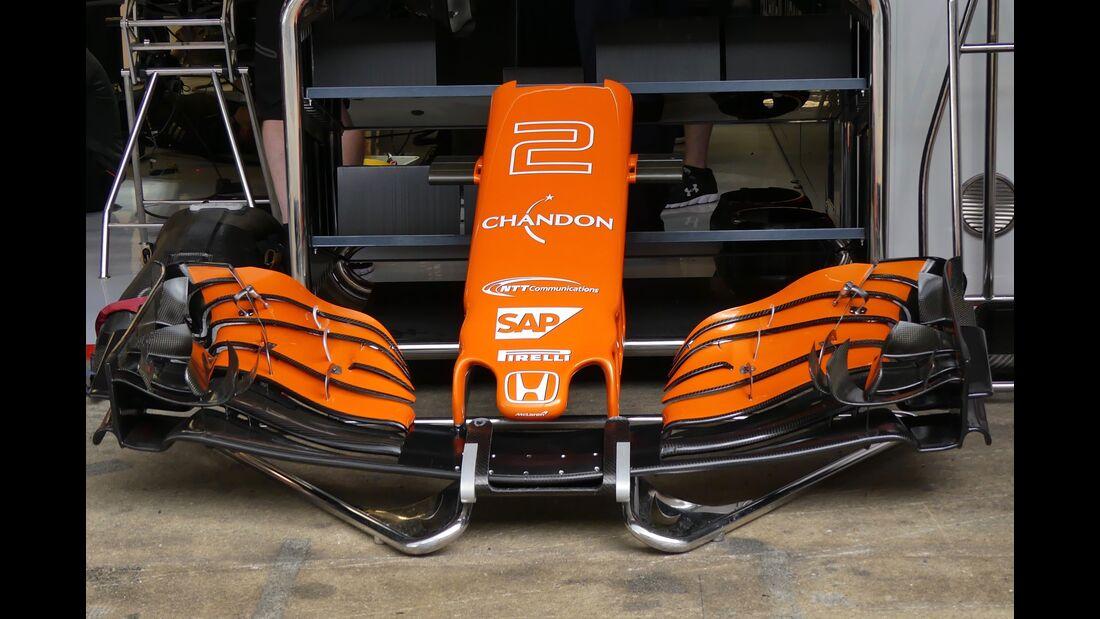 McLaren - Startnummern - Formel 1 - GP Spanien - 11. Mai 2017