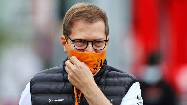 McLaren-Teamchef Andreas Seidl - GP Ungarn 2020
