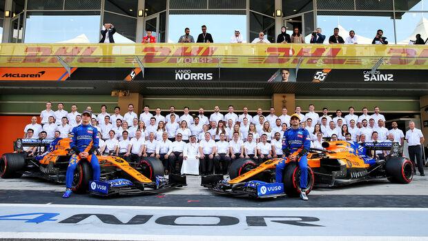 McLaren Teamfoto 2019 - GP Abu Dhabi