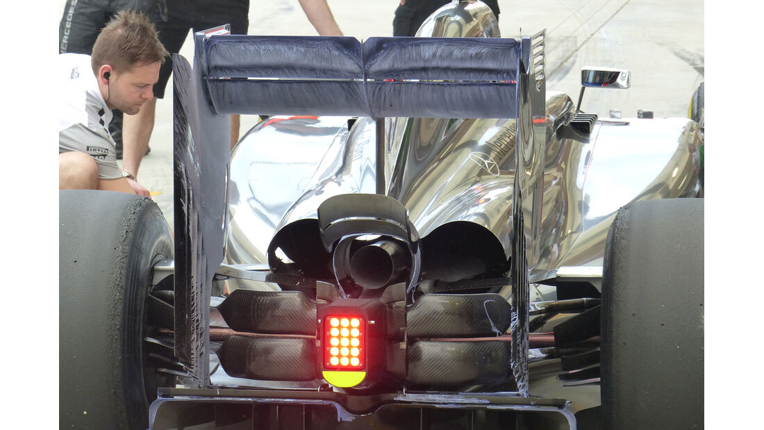 McLaren - Technik - Bahrain Test 2 - 2014