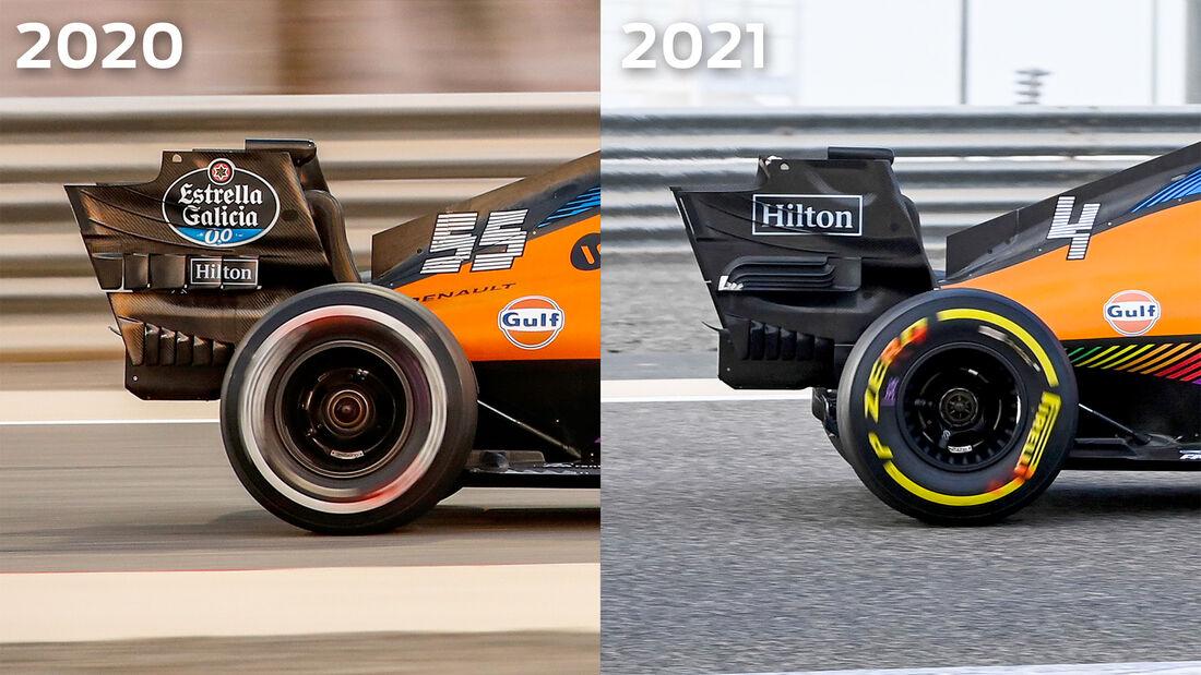 McLaren - Technik-Details - Formel 1 - 2021
