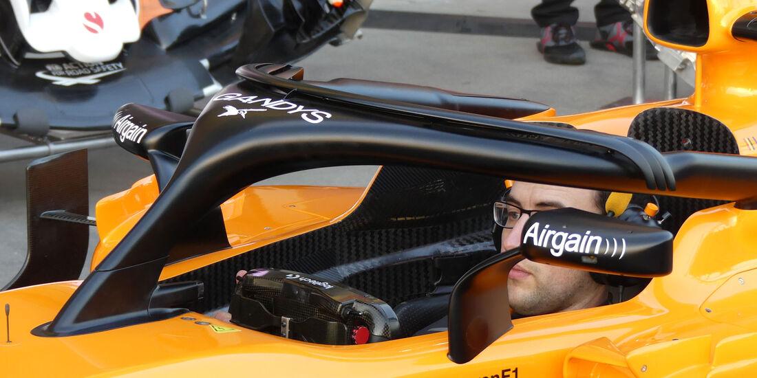 McLaren - Technik-Details - GP Australien 2018 - Melbourne