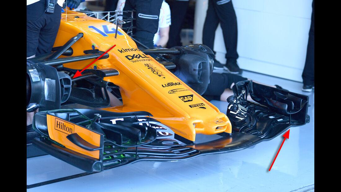 McLaren - Technik - Formel 1 - 2018