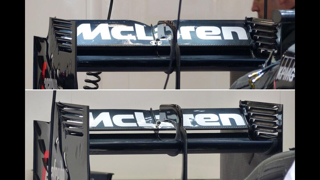 McLaren - Technik - GP Belgien 2015
