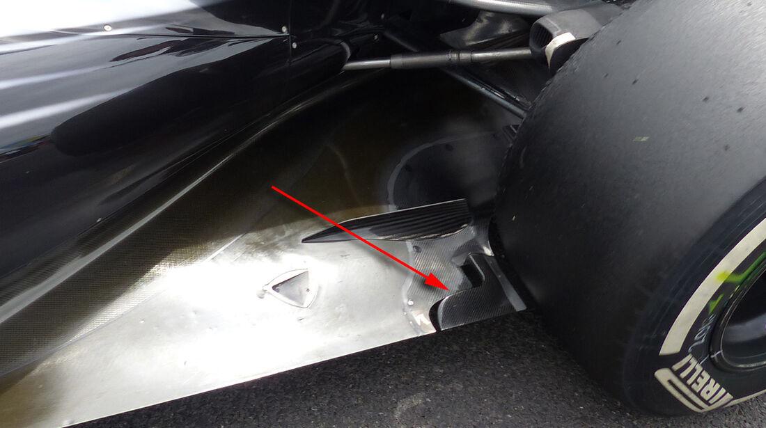 McLaren - Technik - GP England 2014