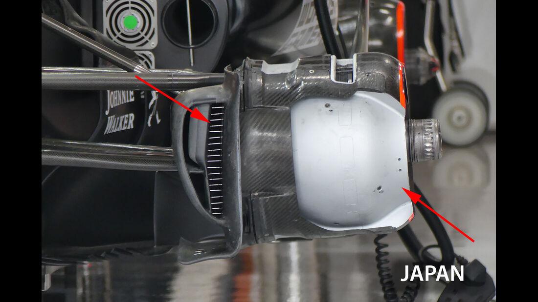 McLaren - Technik - GP Malaysia / Japan 2017