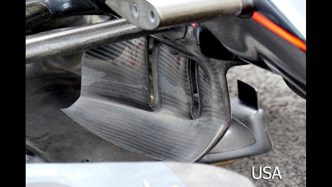 McLaren - Technik - GP Mexiko / GP USA - 2015