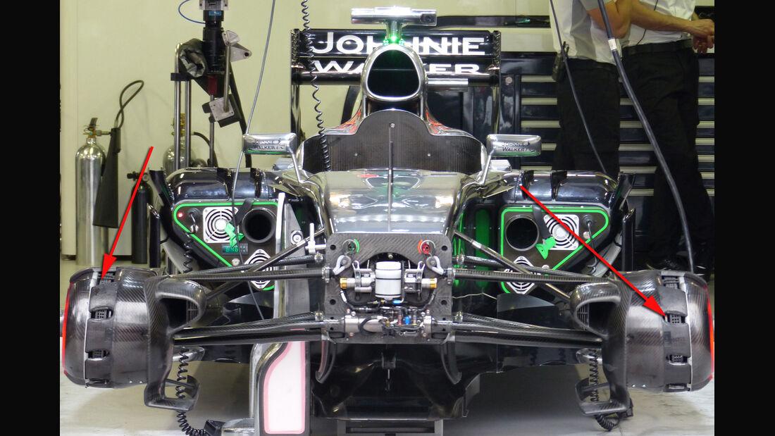 McLaren - Technik - GP Monaco 2014