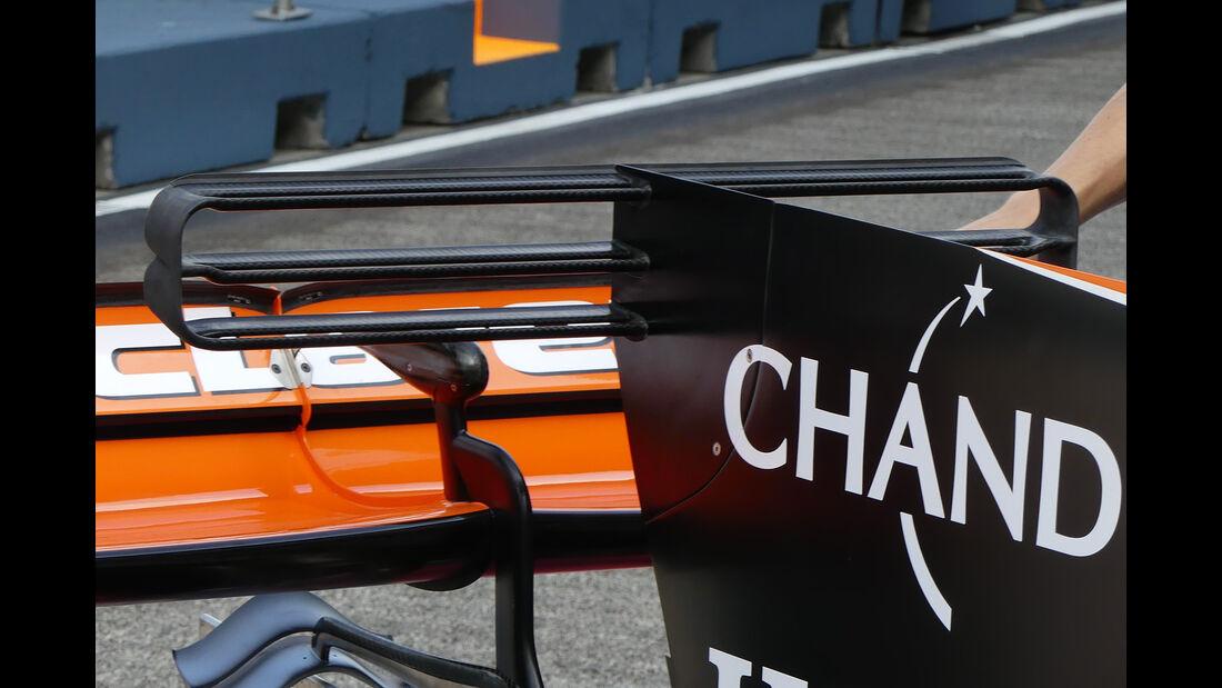 McLaren - Technik - GP Singapur 2017