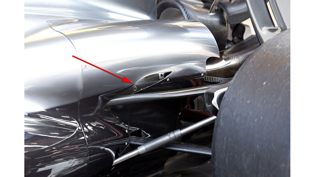 McLaren - Technik - GP Spanien 2014