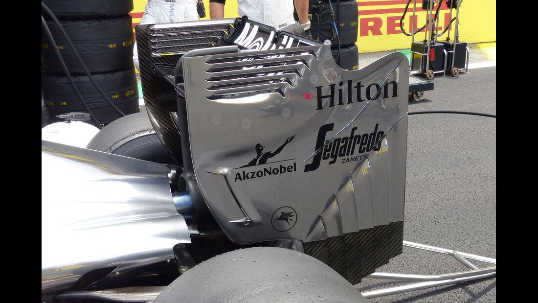 McLaren - Technik - GP USA/Brasilien 2014