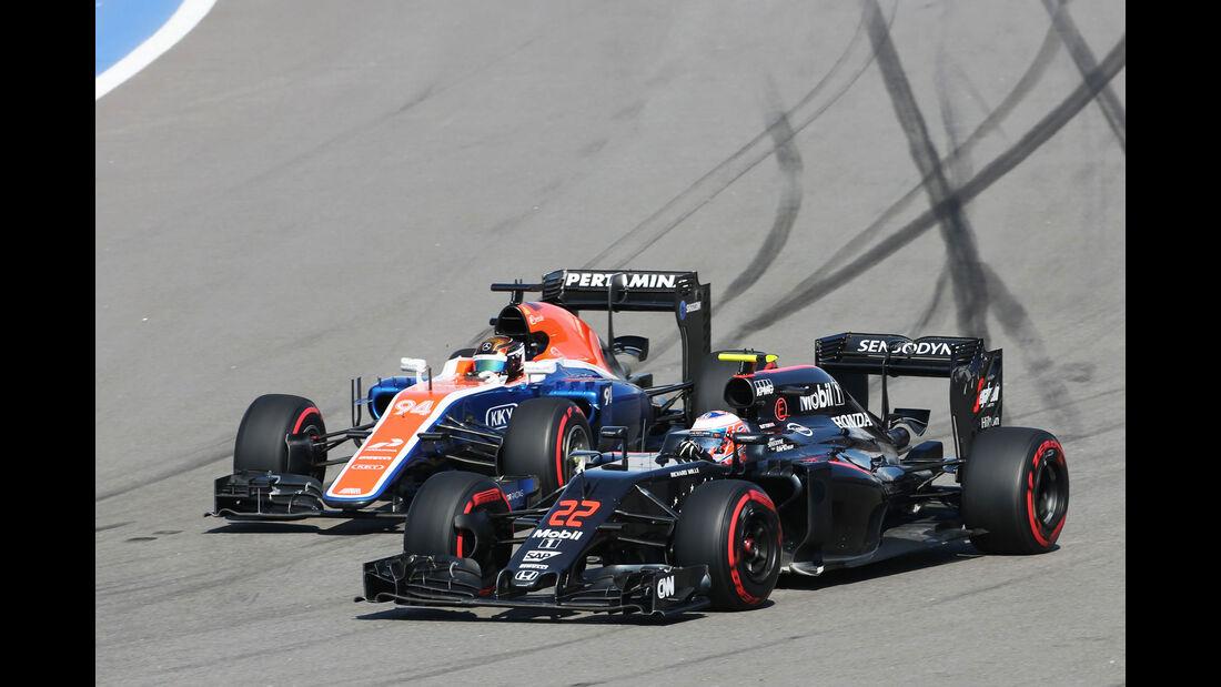 McLaren - Technik-Update - GP Russland 2016 - Sochi