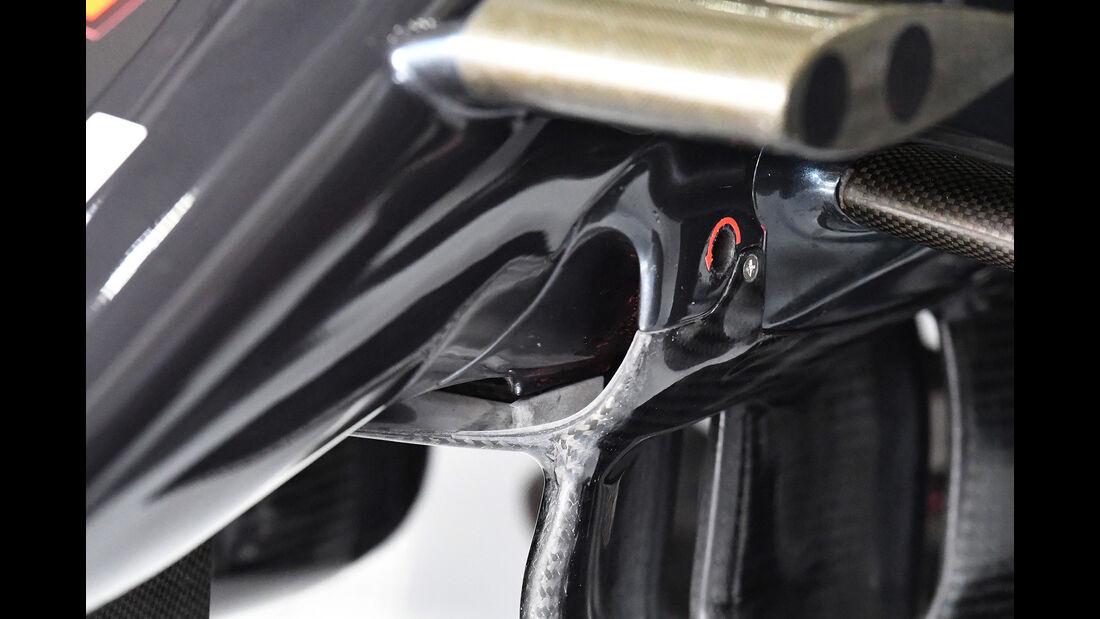 McLaren - Technik-Updates - Ungarn / Deutschland - 2016