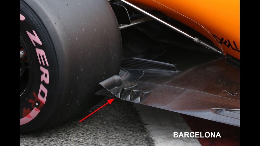 McLaren - Technik-Upgrades - GP Australien 2018