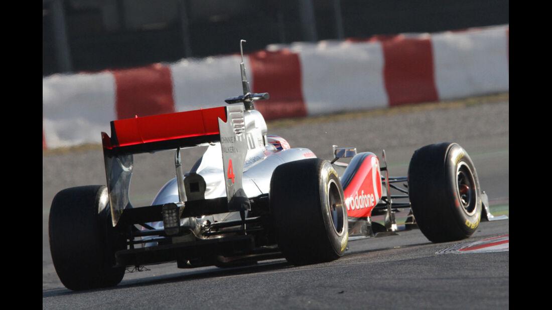 McLaren Test 2011