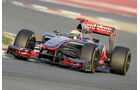 McLaren Test 2012 Splitter