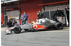 McLaren Test 2012