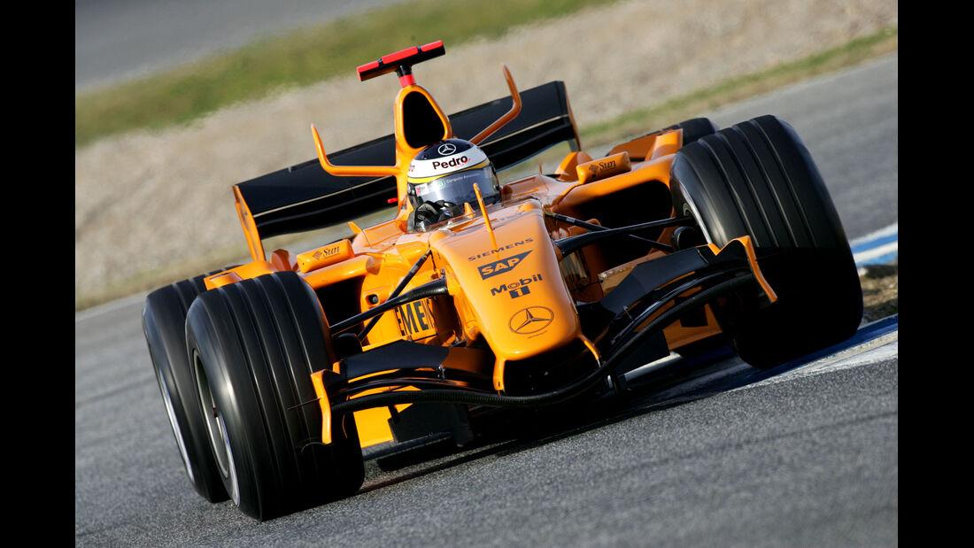 McLaren - Test - Barcelona - 2006 - Formel 1